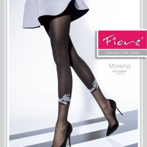 MORENA 40 den fiore tights with leggings imitation pattern