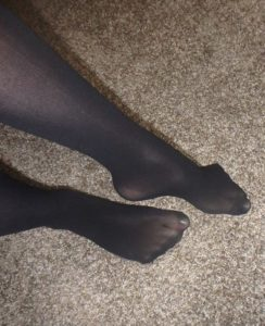 Seamless pantyhose No Brand on me 3