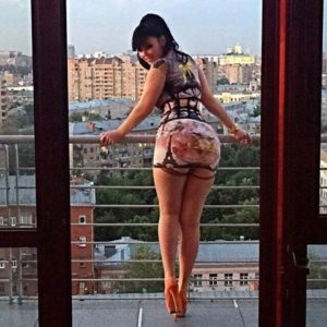 Anna Azelri stockings 8 on vacation