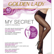My Secret 40 den Golden Lady Seamless Tights plus size