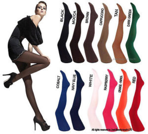 Paula tights in many shades