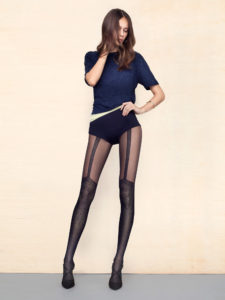 SPICE UP 40 den mock stocking pantyhose, suspender tights, available in plus size, queen size, XL