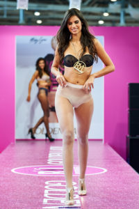 golden lady seamless pantyhose fashion show models on the runway