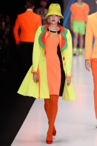 Slava Zaitsev Spring 2017 collection Russian neon colours