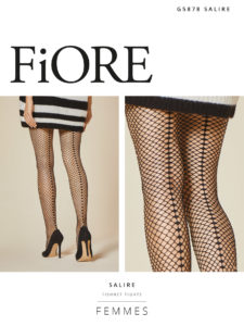 SALIRE 40 den 2 fishnet tights