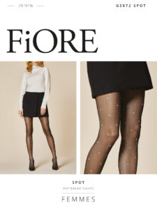 SPOT 20 den 2 polka dot tights